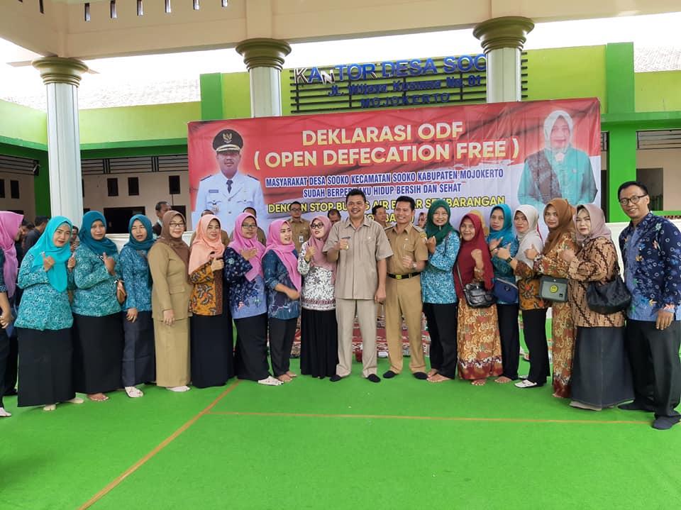 Deklarasi ODF Desa Sooko Kecamatan Sooko